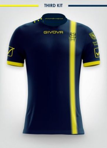 AC Chievo Verona 2018 2019 Givova Home, Away and Third Football Kit, Soccer Jersey, Shirt, Maglia, Gara