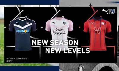 Girondins de Bordeaux 2018 2019 PUMA Home, Away and Third Football Kit, Soccer Jersey, Shirt, Maillot