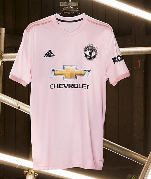 super popular aede9 62df9 Manchester United 2018/19 adidas Away Kit - FOOTBALL FASHION.ORG