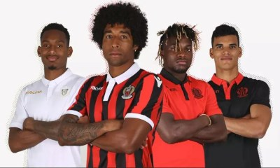 OGC Nice 2018 2019 Macron Home, Away and Third Football Kit, Soccer Jersey, Shirt, Maillot