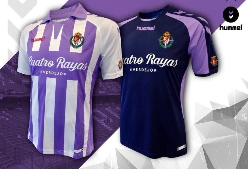 new arrival d1c79 34587 Real Valladolid 2018/19 hummel Home and Away Kits - FOOTBALL ...