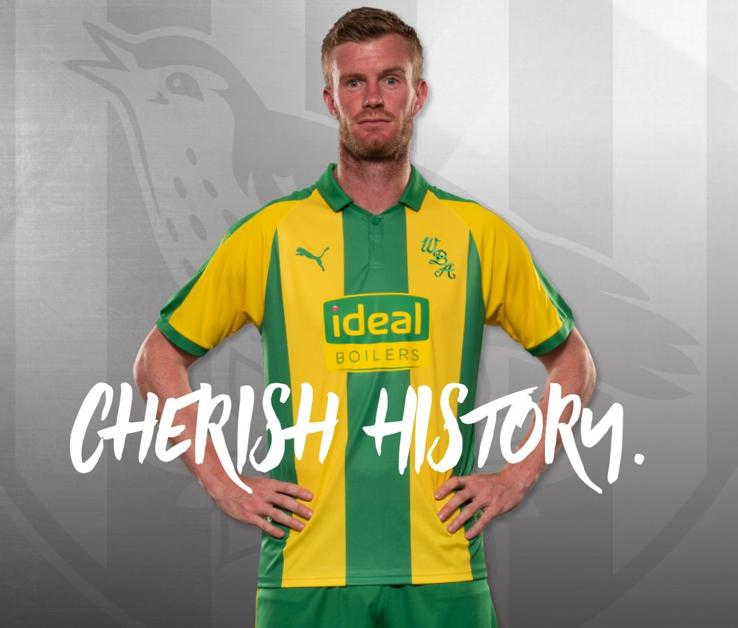b261b8abf West Bromwich Albion 2018 19 PUMA Away and Third Kits - FOOTBALL ...