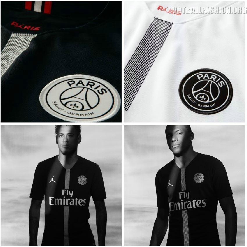 28812fa4883b Paris Saint Germain X Jordan 2018 19 Collection Football Fashion Org