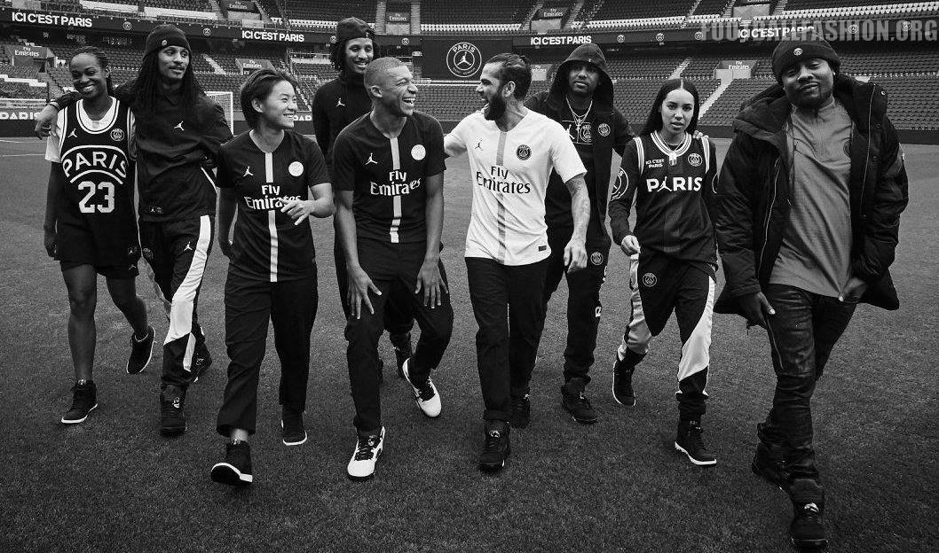 258e47234 Paris Saint-Germain 2018 2019 Jordan UEFA Champions League Football Kit