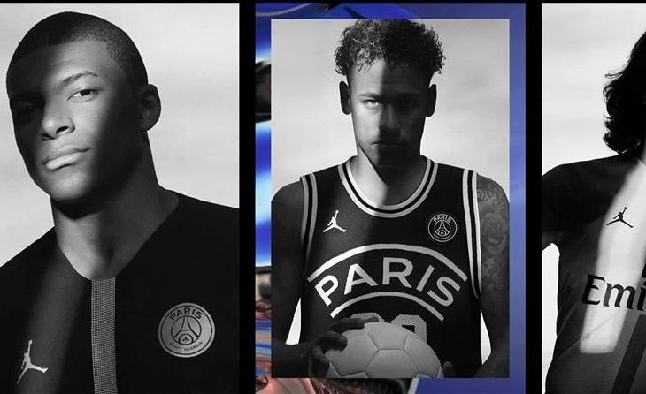b6603f1d975a Paris Saint Germain X Jordan 2018 19 Collection Football Fashion Org. Paris  Saint Germain 2018 19 Jordan Third Kit 18 ...