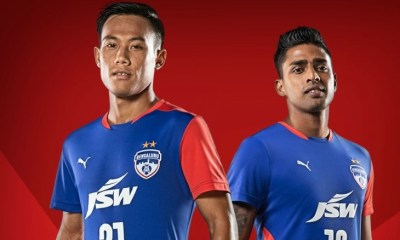 Bengaluru FC 2018 2019 PUMA Home and Away Football Kit, Soccer Jersey, Shirt