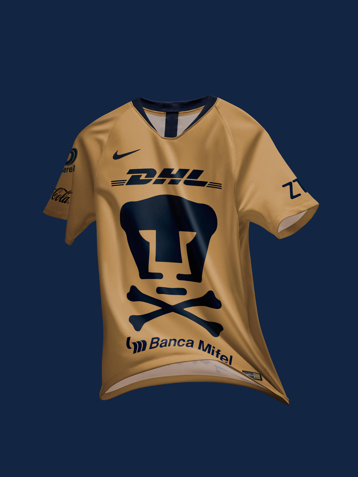 811fff45c Pumas 2018 2019 Nike Day of the Dead Soccer Jersey, Football Kit, Shirt,