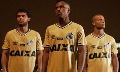 Santos FC 2018 2019 Umbro Third Football Kit, Soccer Jersey, Shirt, Camsa III