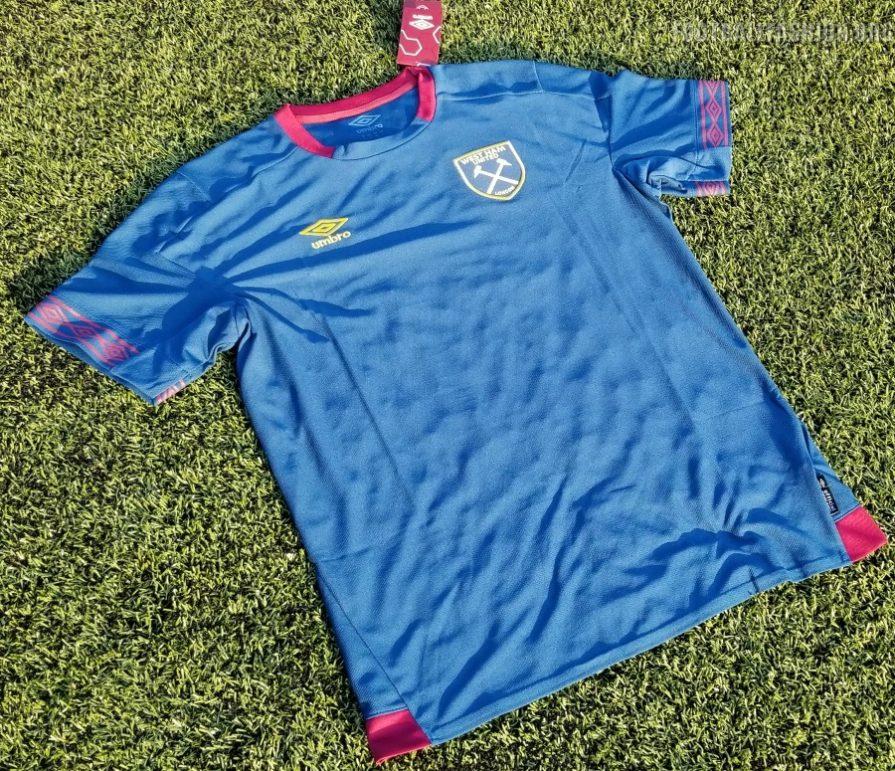 83c7609c094 West Ham United 2018 2019 Umbro Away Football Kit, Soccer Jersey, Shirt,  Camiseta