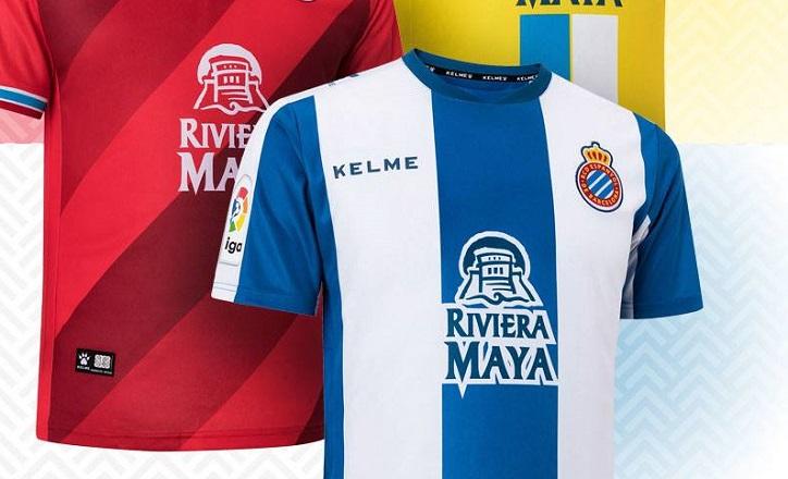 vívido y de gran estilo muy baratas fuerte embalaje RCD Espanyol 2018/19 Kelme Home, Away and Third Kits ...