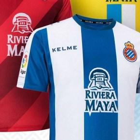 RCD Espanyol 2018 2019 Kelme Home, Away and Third Football Kit, Soccer Jersey, Shirt, Camiseta de Futbol, Equipacion
