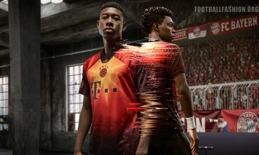 Bayern München 2018/19 adidas x EA Sports Fourth Kit - FOOTBALL ...