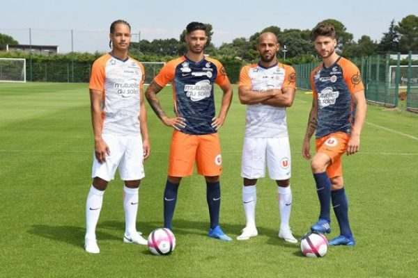 Montpellier HSC 2018 2019 Nike Home, Away, Rose, Pink Soccer Jersey, Shirt, Football Kit, Maillot