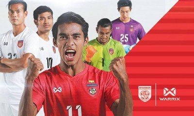 Myanmar 2018 2019 Warrix Home and Away Football Kit, Soccer Jersey, Shirt