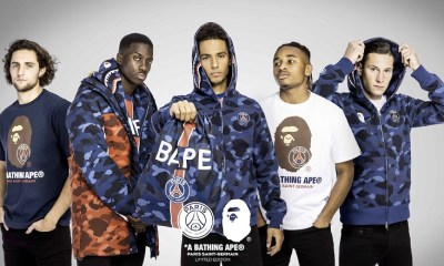 Paris Saint-Germain x BAPE Drop First Ever Collaboration 2018 2019 AW SS