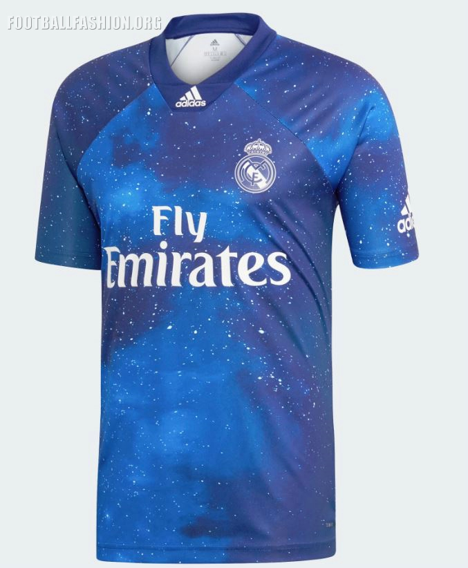 2143fb0f094 Real Madrid 2018 19 Adidas Digital Fourth Kit Football Fashion Org