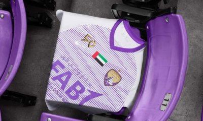 Al Ain FC 2018/19 Nike 50th Anniversary Club World Cup Football Kit, Soccer Jersey, Shirt
