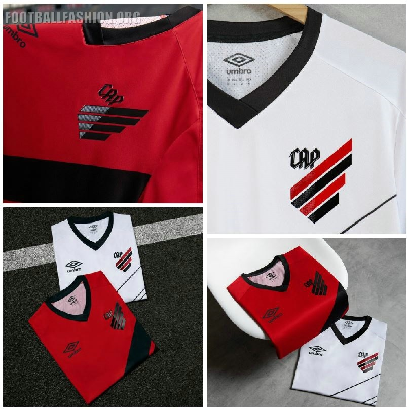 e3f168e762a Athletico Paranaense 2019 Umbro Home and Away Kits - FOOTBALL ...