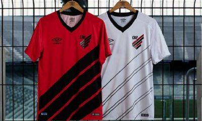 933a4475a65 Athletico Paranaense 2019 Umbro Home and Away Football Kit