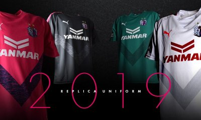 Cerezo Osaka 2019 PUMA Home and Away Football Kit, Soccer Jersey, Shirt