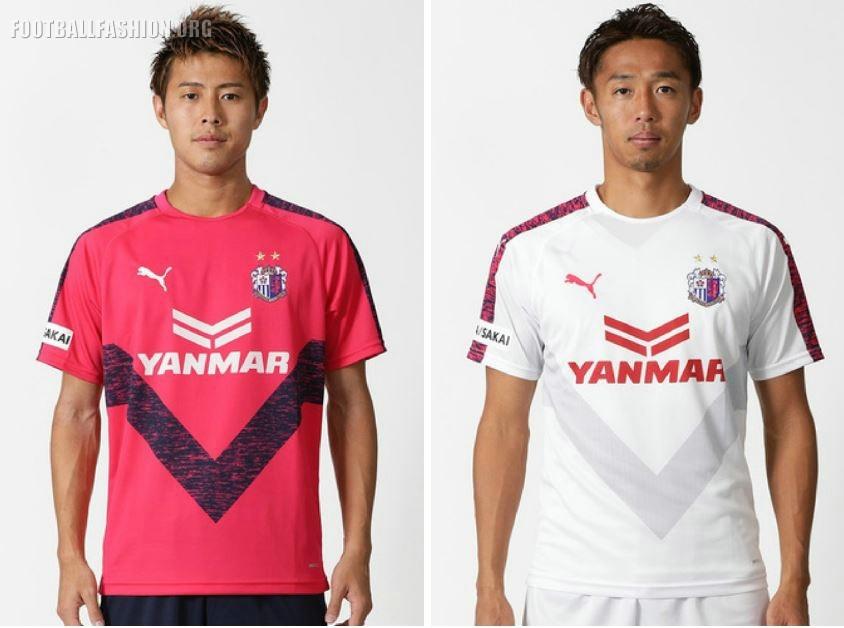 d0906620390 Cerezo Osaka 2019 PUMA Home and Away Football Kit, Soccer Jersey, Shirt