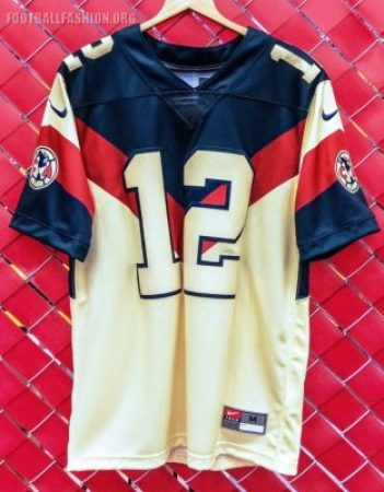 Club América 2018 2019 Nike American Football NFL Jersey, Shirt, Football Kit, Equipacion, Camiseta de Futbol Americano, Playera, Uniforme