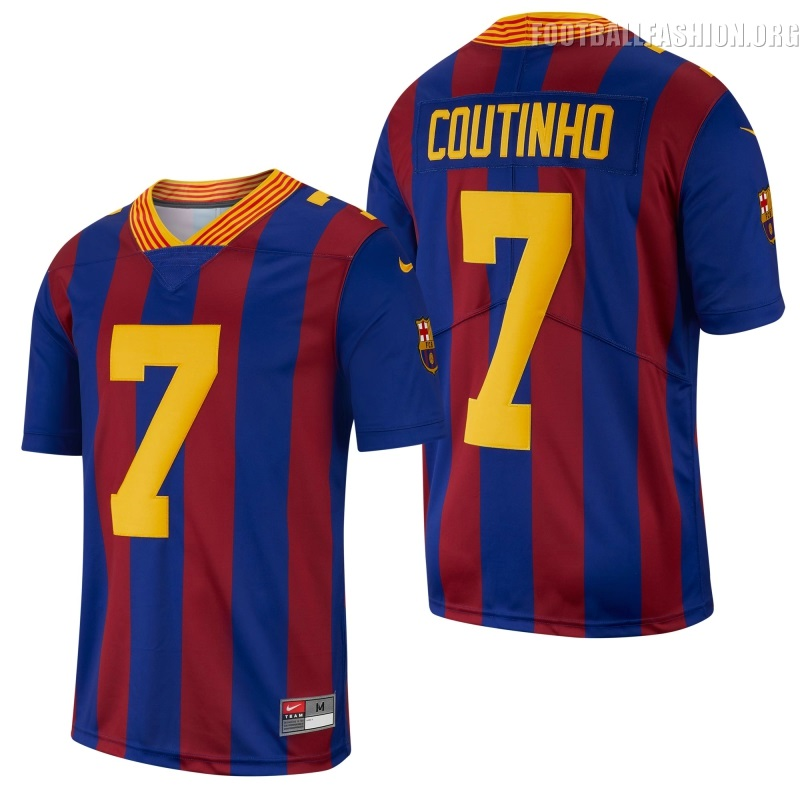 4eddc6f13 FC Barcelona 2018 19 Nike NFL Jersey - FOOTBALL FASHION.ORG