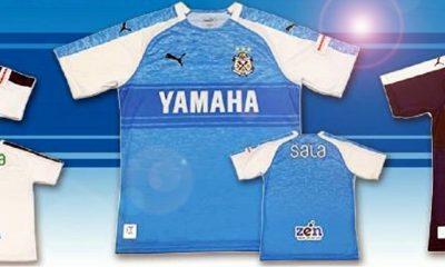 Júbilo Iwata 2019 PUMA Home and Away Football Kit, Soccer Jersey, Shirt