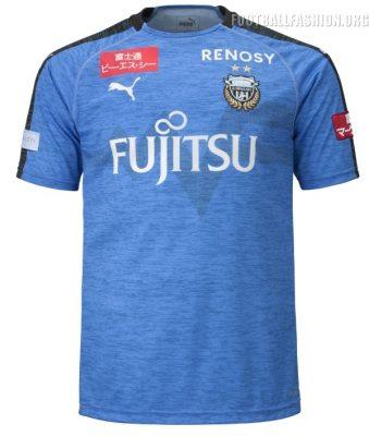 Kawasaki Frontale 2019 PUMA Home Football Kit, Soccer Jersey, Shirt