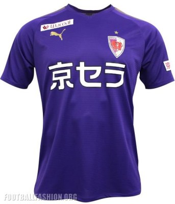 Kyoto Sanga FC 2019 PUMA Home and Away Football Kit, Soccer Jersey, Shirt