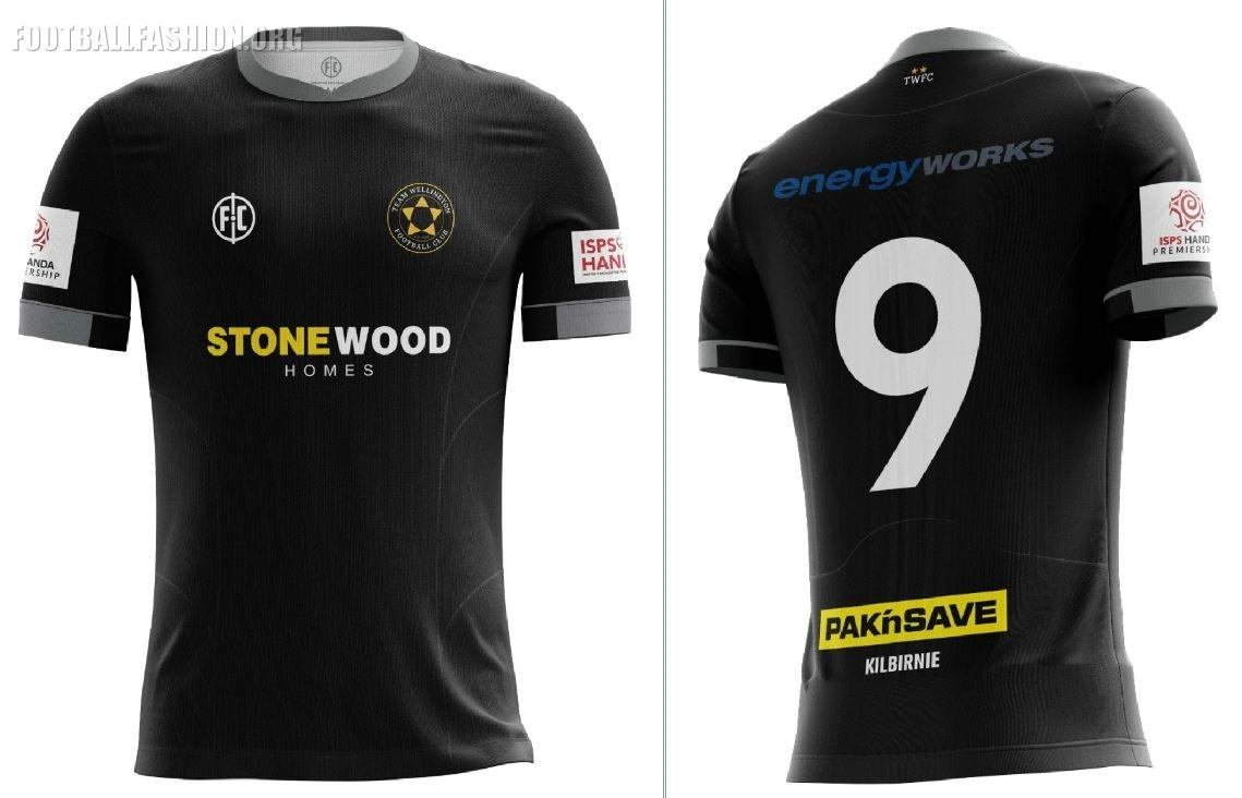 Team Wellington 2018 19 Home and Away Kits – FOOTBALL FASHION.ORG a752bf852