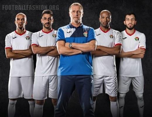 Jordan 2019 Jako Home and Away Football Kit, Soccer Jersey, Shirt
