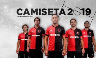 Newell's Old Boys 2019 Umbro Home Football Kit, Soccer Jersey, Shirt, Camiseta de Futbol