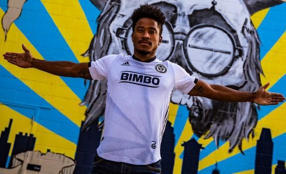 Philadelphia Union 2019 adidas Away Football Kit, Soccer Jersey, Shirt, Camiseta de Futbol