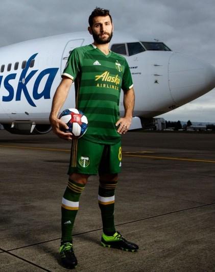 Portland Timbers 2019 adidas Home Soccer Jersey, Shirt, Camiseta de Futbol, Kit