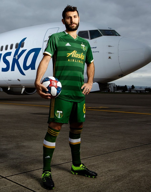 new styles c4983 af69d Portland Timbers 2019 adidas Home Jersey - FOOTBALL FASHION.ORG