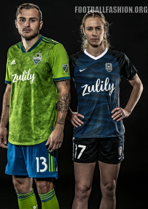 ea3c7fdf Seattle Sounders and Reign 2019 adidas Home Soccer Jersey, Shirt, Football  Kit, Camiseta