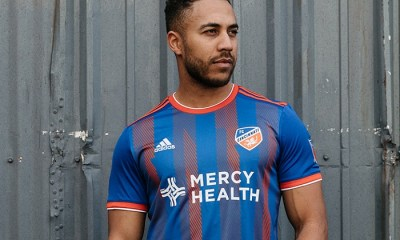 FC Cincinnati 2019 adidas Home and Away Soccer Jersey, Shirt, Football Kit, Camiseta de Futbol