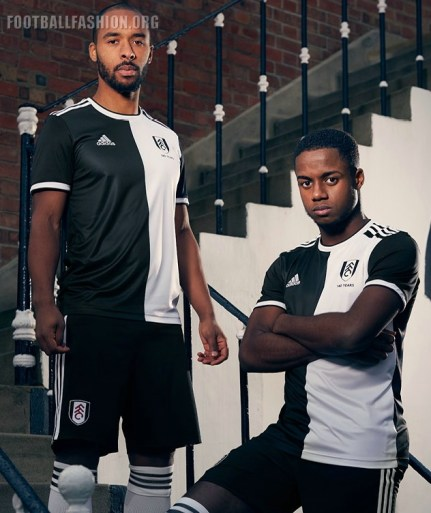 Fulham FC 2019 140th Anniversary adidas Football Kit, Soccer Jersey, Shirt