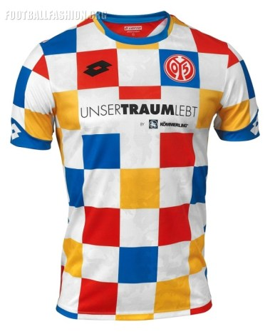 Mainz 05 2019 Lotto Carnival Football Kit, Soccer Jersey, Shirt, Trikot, Fastnachtstrikot