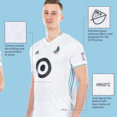 Minnesota United 2019 adidas Drift Away Football Kit, Soccer Jersey, Shirt, Camiseta de Futbol