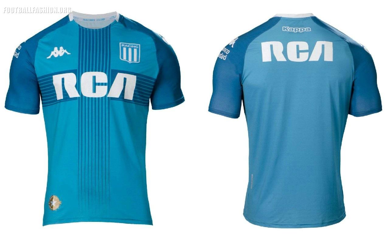 d12fe3285 Racing Club 2019 Kappa Home and Away Football Kit, Soccer Jersey, Shirt,  Camiseta