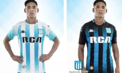 Racing Club 2019 Kappa Home and Away Football Kit, Soccer Jersey, Shirt, Camiseta de Futbol
