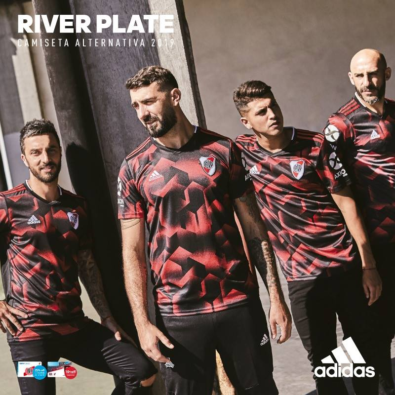 17e0e09e11a River Plate 2019 adidas Third Football Kit, Soccer Jersey, Shirt, Camiseta  Tercera