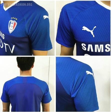 Suwon Samsung Bluewings 2019 PUMA Football Kit, Soccer Jersey, Shirt