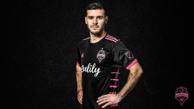 Seattle Sounders FC 2019 2020 adidas Away Football Kit, Soccer Jersey, Shirt, Camiseta de Futbol MLS