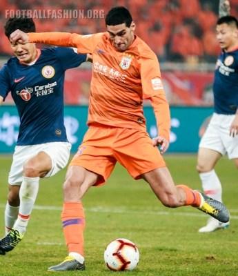 Shandong Luneng 2019 Nike Home Football Kit, Soccer Jersey, Shirt