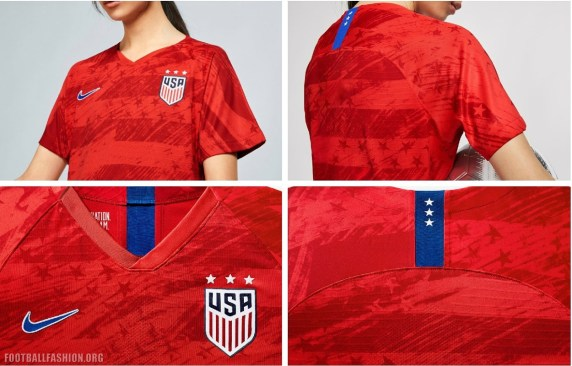 USA 2019 Women's World Cup Nike Soccer  Jersey, Football Shirt, Kit, Camiseta de Futbol