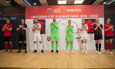 Albania 2019 2020 Macron Home, Away and Third Football Kit, Soccer Jersey, Shirt, Bluza, Uniforma