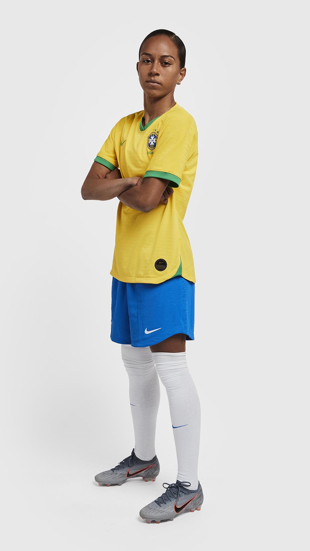 dd77558a859 The Brazil 2019 Women s World Cup Nike home and away kits will be on sale  at World Soccer Shop